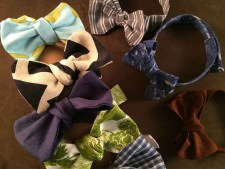 Handmade Cottagewood Bow Ties