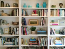 A Bookcase Makeover