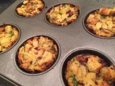 Stuffing Muffins!