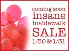 Insane Insidewalk Sale 2015