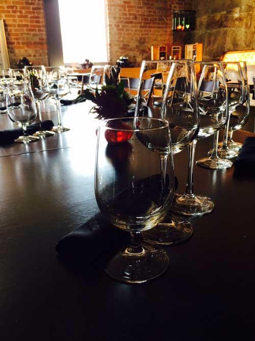 Wine Glasses at Frizzante