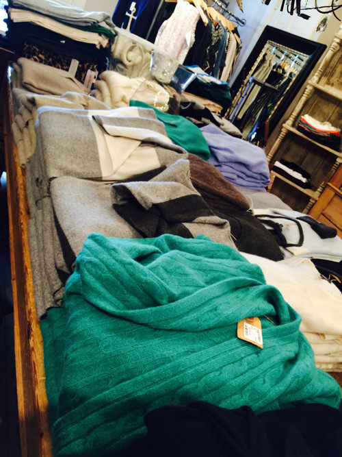Cashmere Selection at Hope & Stetson