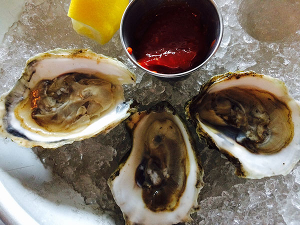 Noank Oysters, Stonington CT