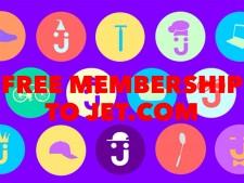 Free membership to JET.com