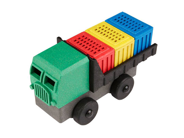 Eco-Friendly Cargo Truck
