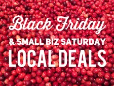 Local DEALS for Black Friday & Small Biz Saturday 2015