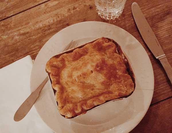 Haylon's pot pie