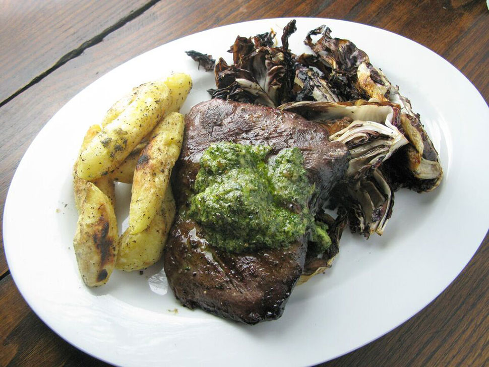 Priscilla Martel Hanger Steak