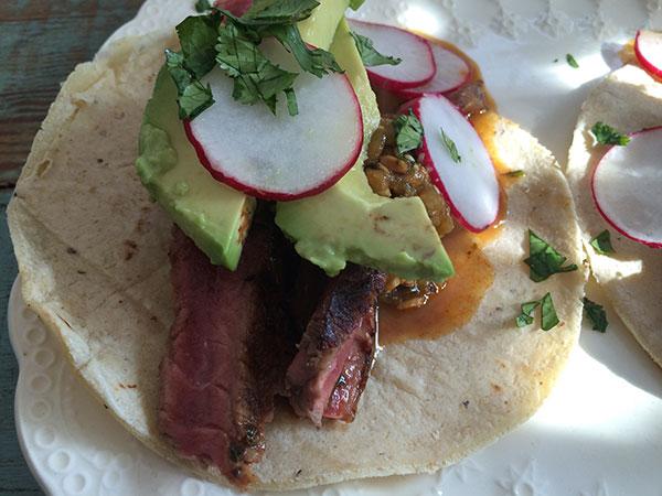 Blue Apron Steak Tacos