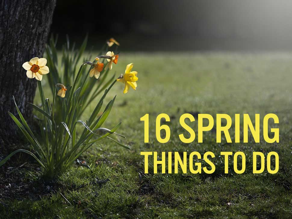 16 Spring Events for 2016