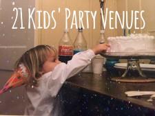 21 Kids' Party Venues