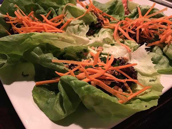 zinc lettuce wraps