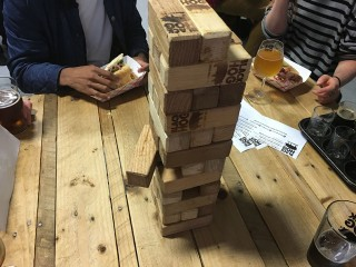 black hog jenga