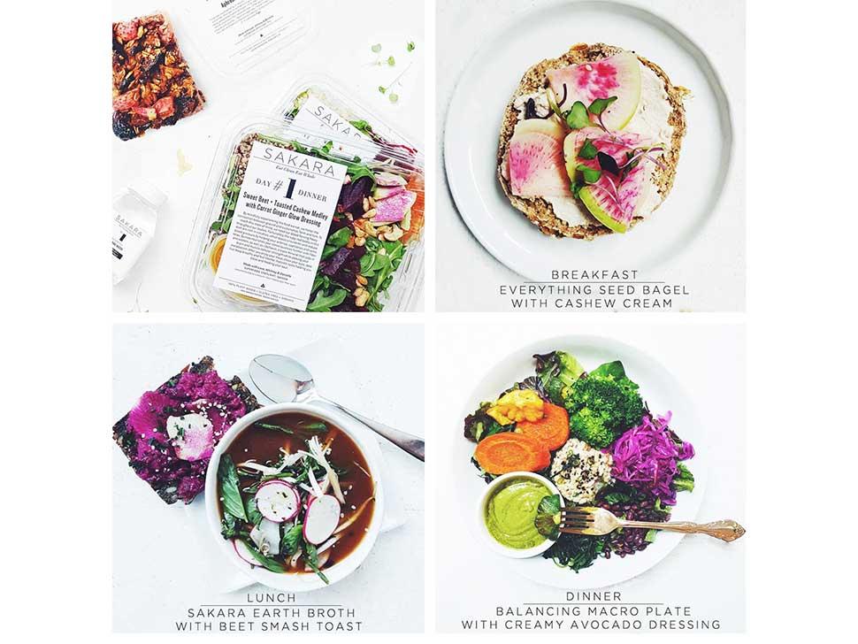 Sakara, An Organic Meal Delivery