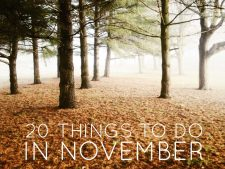 20 Things To Do in November 2016