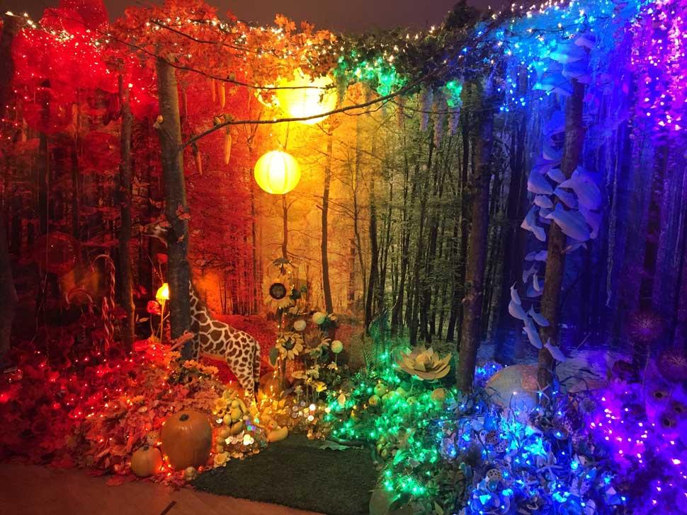 Holiday Art Peeping