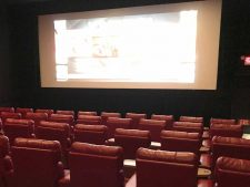 Playing Hooky at Mystic Luxury Cinema