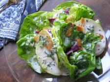 Butterhead, Apple, Beet and Almond Salad