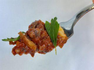 Priscilla Martel Mushroom Bolognese