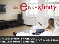 Xfinity Night Out with the-e-list!