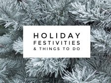 Things To Do for the Holidays