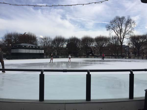 Skating Rink at National Gallery