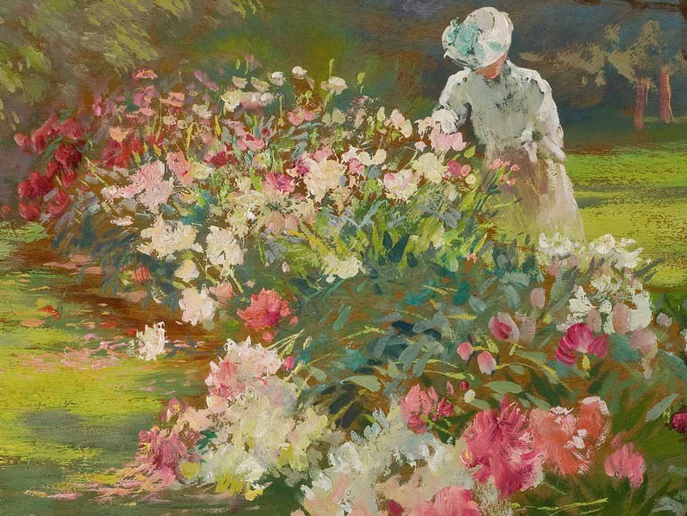 Matilda Browne Peonies