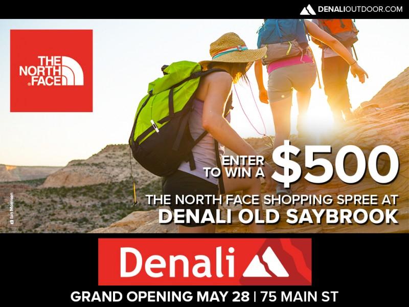 Win a $500 The North Face Shopping Spree at Denali