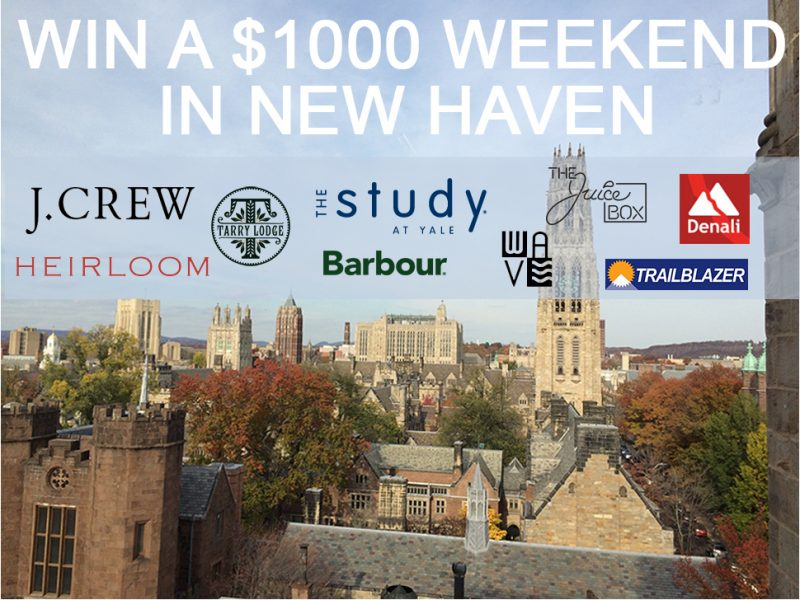 Win a $1000 Weekend In New Haven