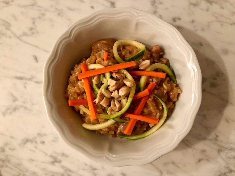 Thai Chicken and Rice Bowls