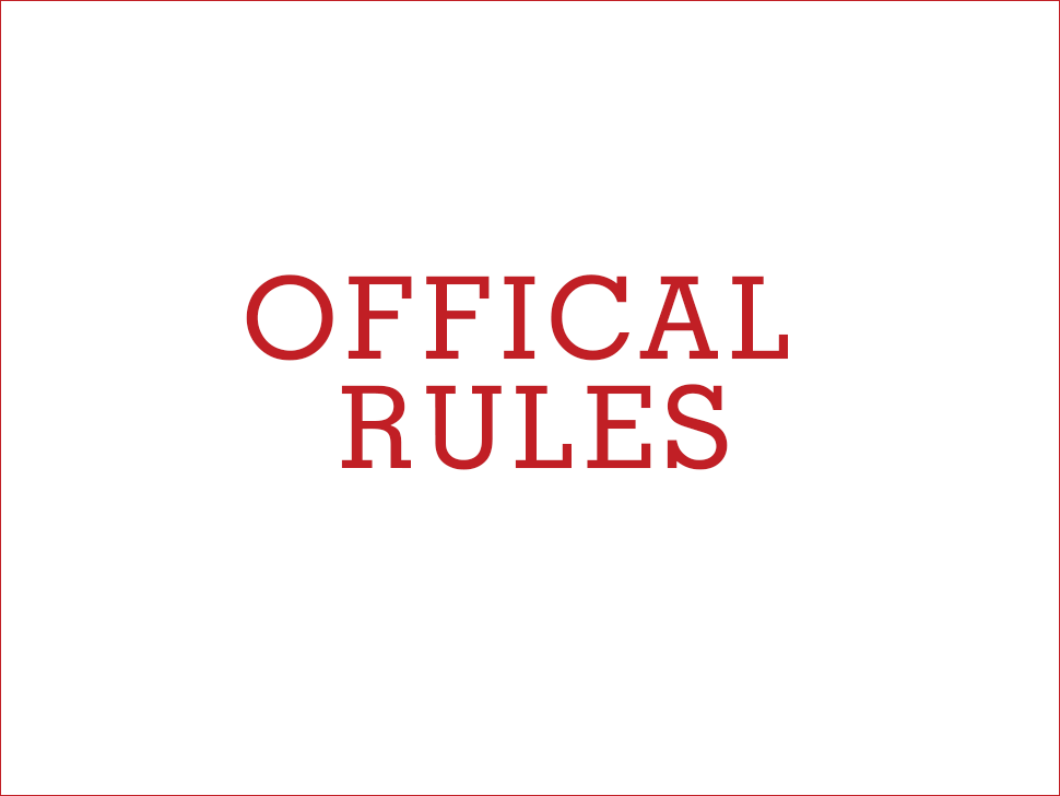 IIS official rules