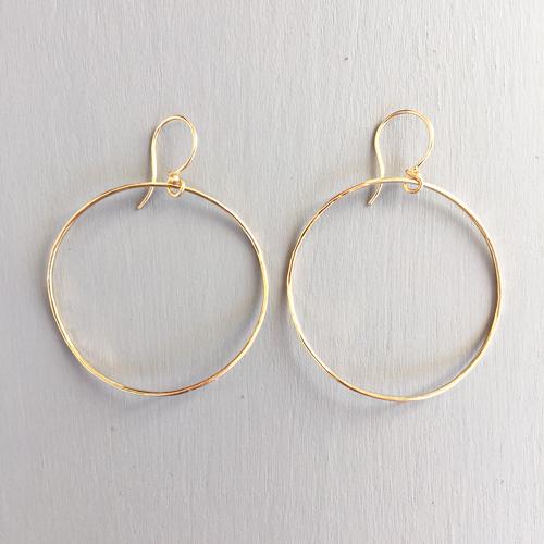 dina varano gold hoops