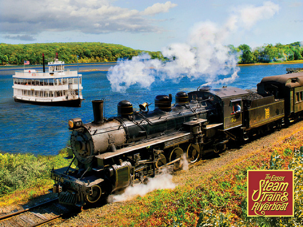 Essex Steam Train and Riverboat