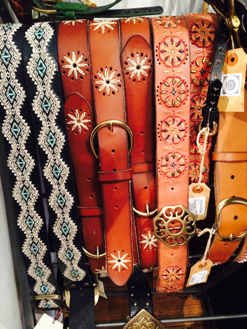 Leather Belts at Hope & Stetson