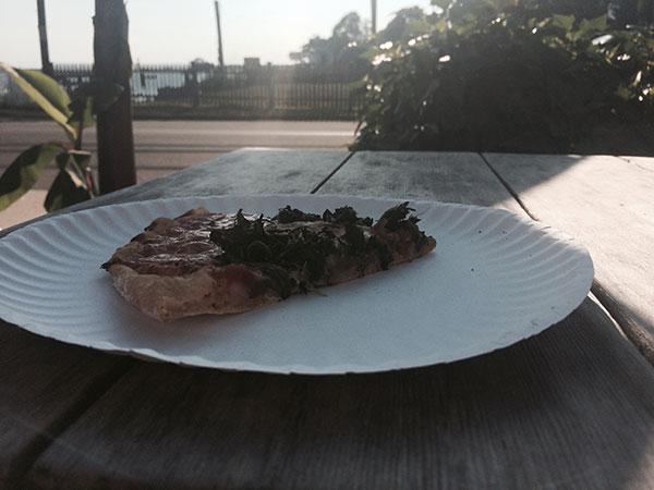 Pizza at Stony Creek Market, Stony Creek