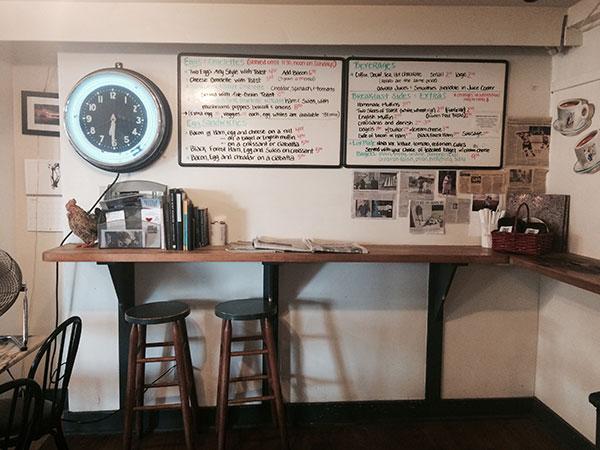 Stony Creek Market Sandwich Menu Board