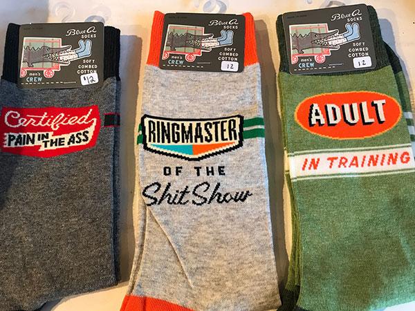flutterby socks