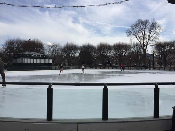 Skating Rink at National Gallery