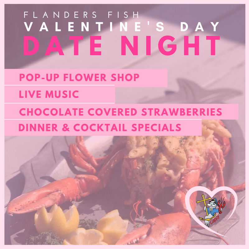 Valentine S Day Date Night At Flanders Fish The E List