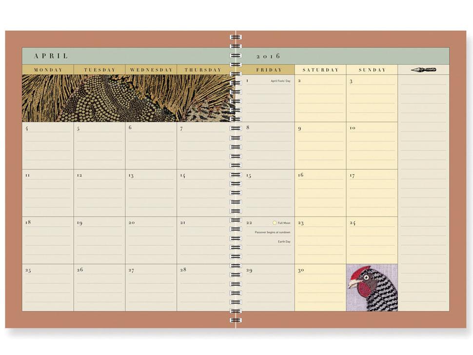 C&G Desk Calendar 2015