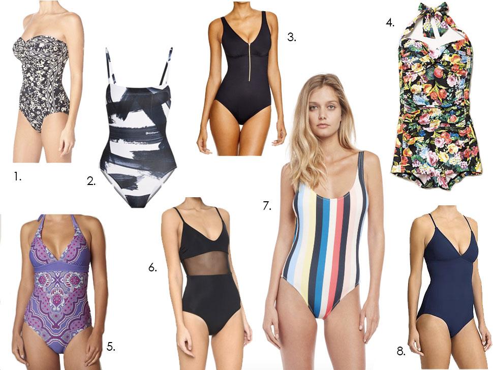 One Piece Swimwear 2016