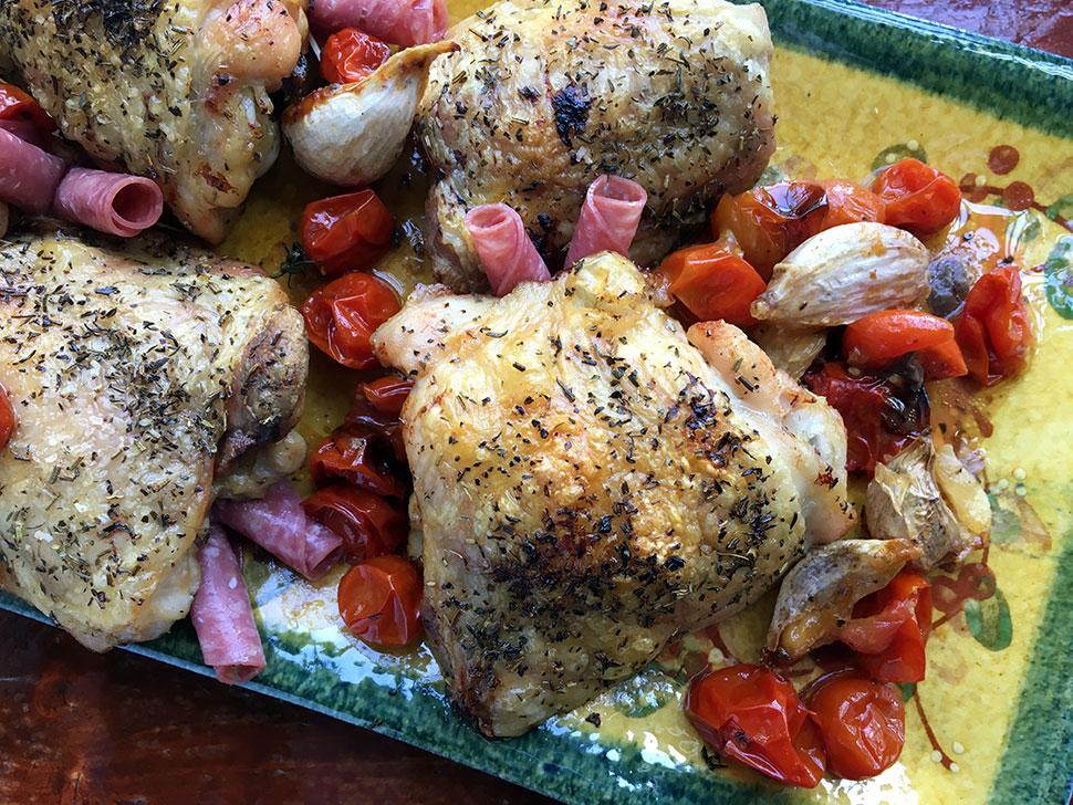 Priscilla Martel Chicken