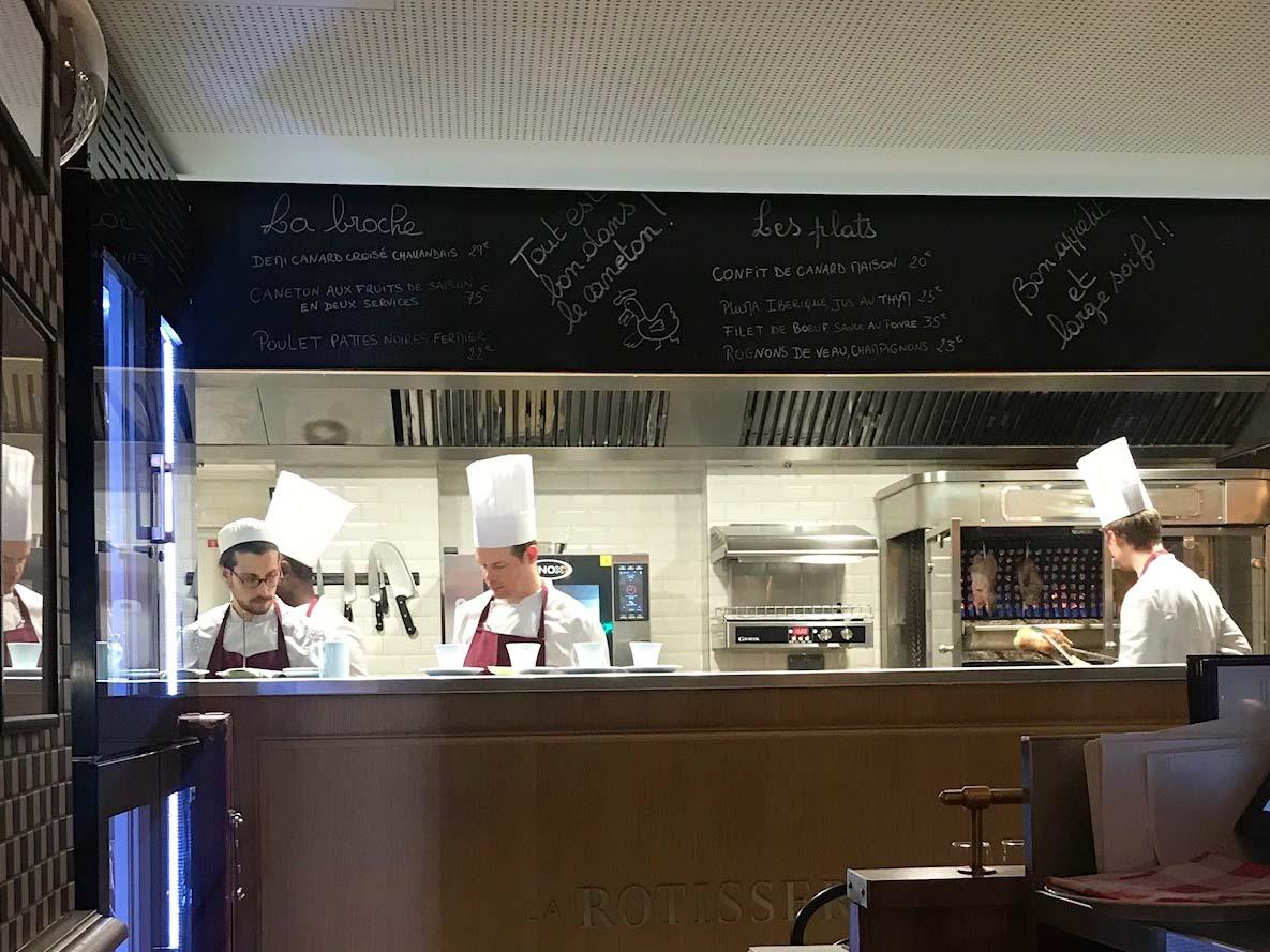 Rotisserie D'argent Paris