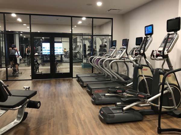 Gym at the Blake