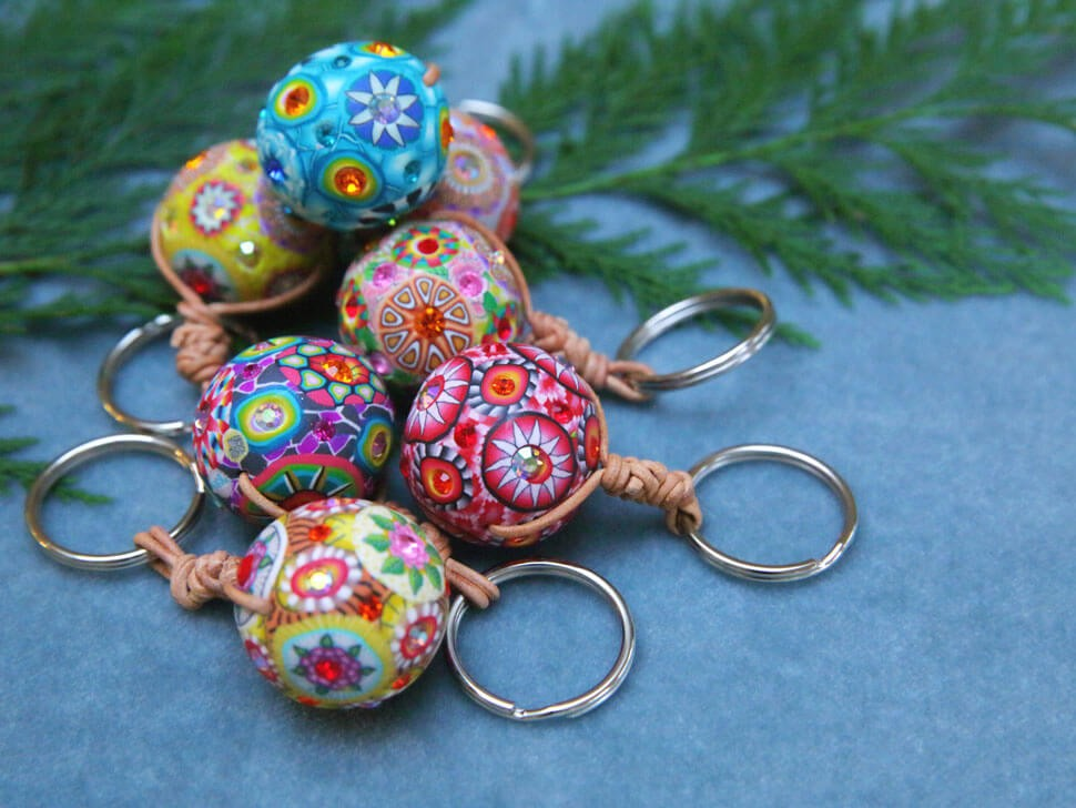 Billie Beads Key Chains