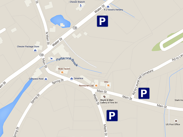 Chester CT parking map