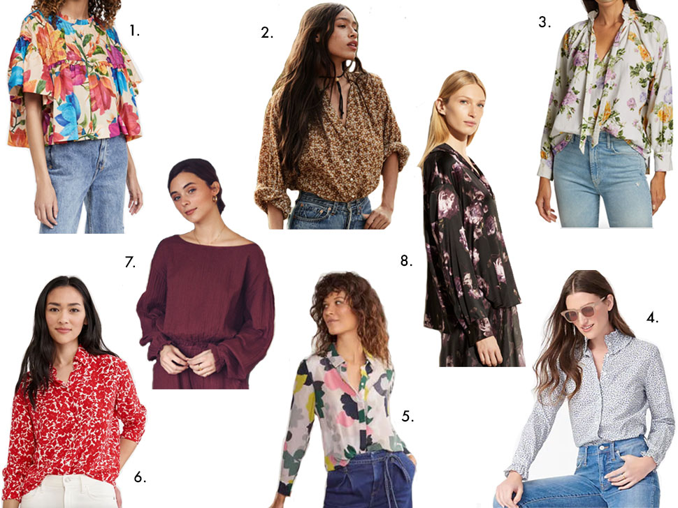 spring blouses