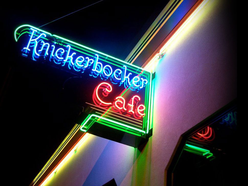 kickerbocker cafe