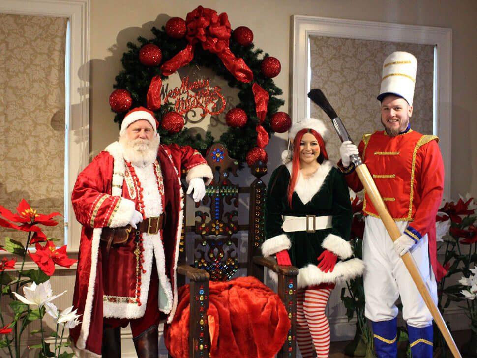 Santa at Flo Gris