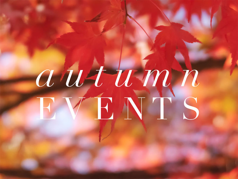 Fall Fairs, Festivals and Events 2019